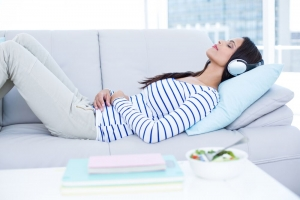 Listening to Yoga Music at Bedtime May Support Heart Health
